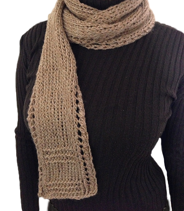 Unisex Easy Beginner Scarf