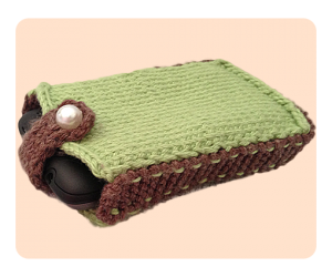 Free knitting patterns mobile phone case