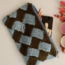 Knitted Weave Clutch