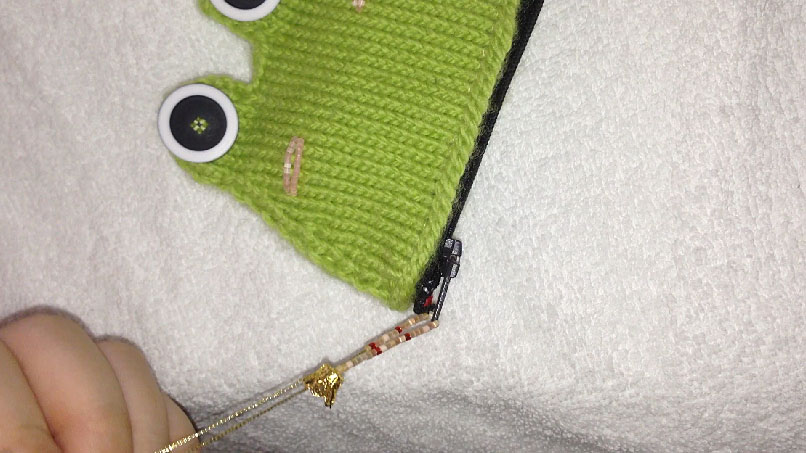 How to make crown charm accessories for frog coin purse