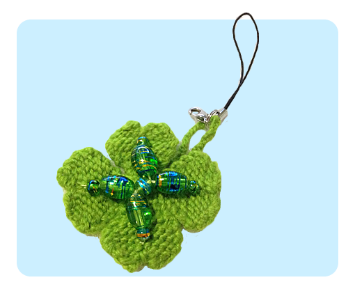 Free Four leaf clover cute knitting patterns