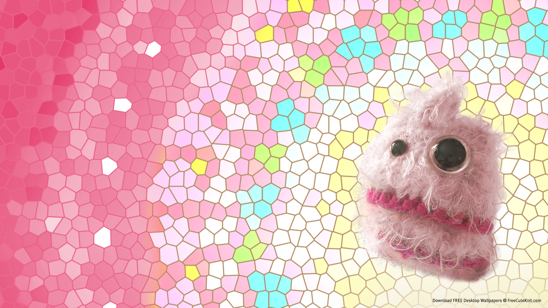 desktop-screen-cotton-candy-floss monster free wallpaper